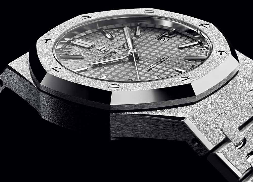 audemars piguet roya oak frosted white gold