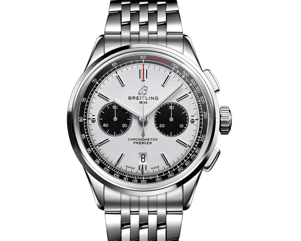 breitling premier b01 chronograph 42 dial