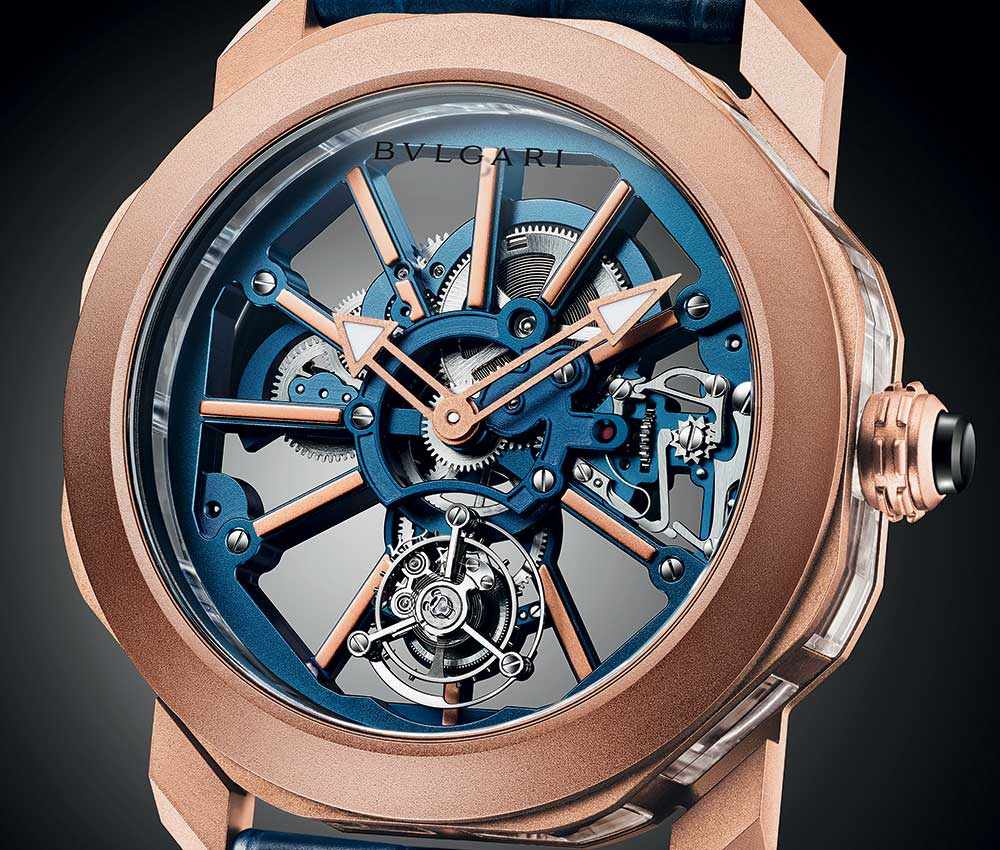 bulgari octo roma tourbillon saphir side