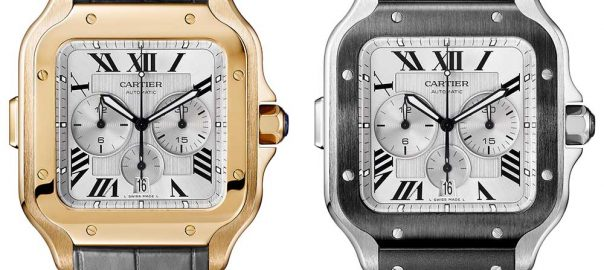 cartier santos chronograph duo