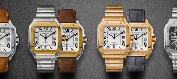 cartier santos gear patrol collection