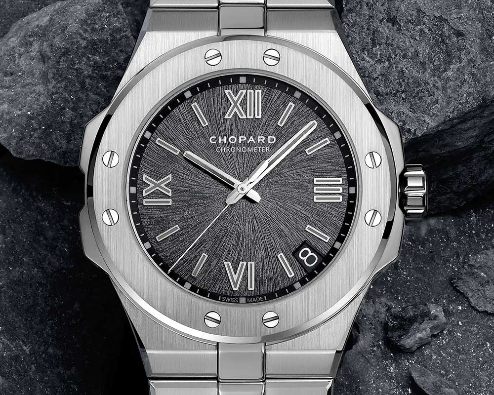 chopard alpine eagle closeup