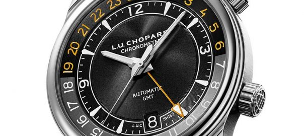 chopard luc gmt one white background