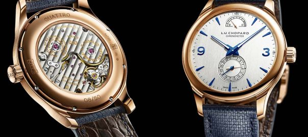 chopard luc quattro with caseback