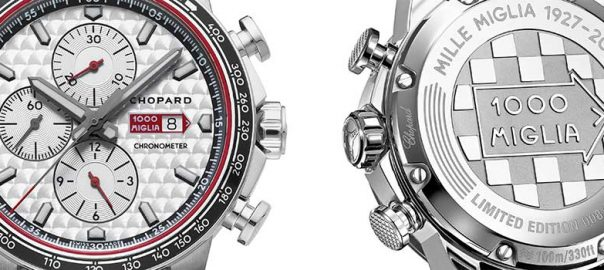 chopard mille milgia race edition steel both view