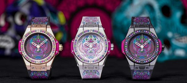hublot big bang one clic calavera catrina collection
