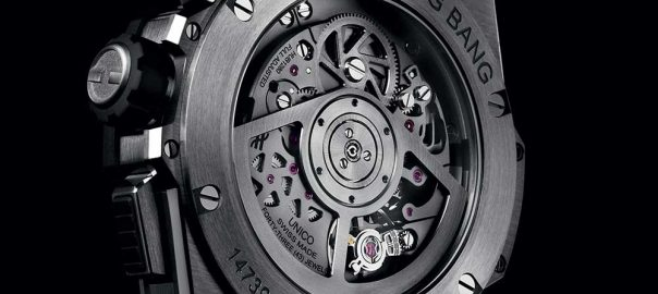 hublot big bang integral titanium caseback