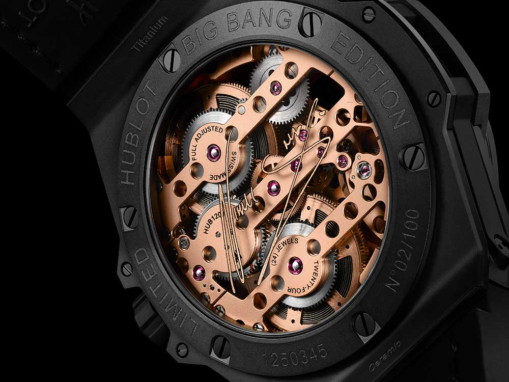 hublot big bang meca 10 nicky jam caseback