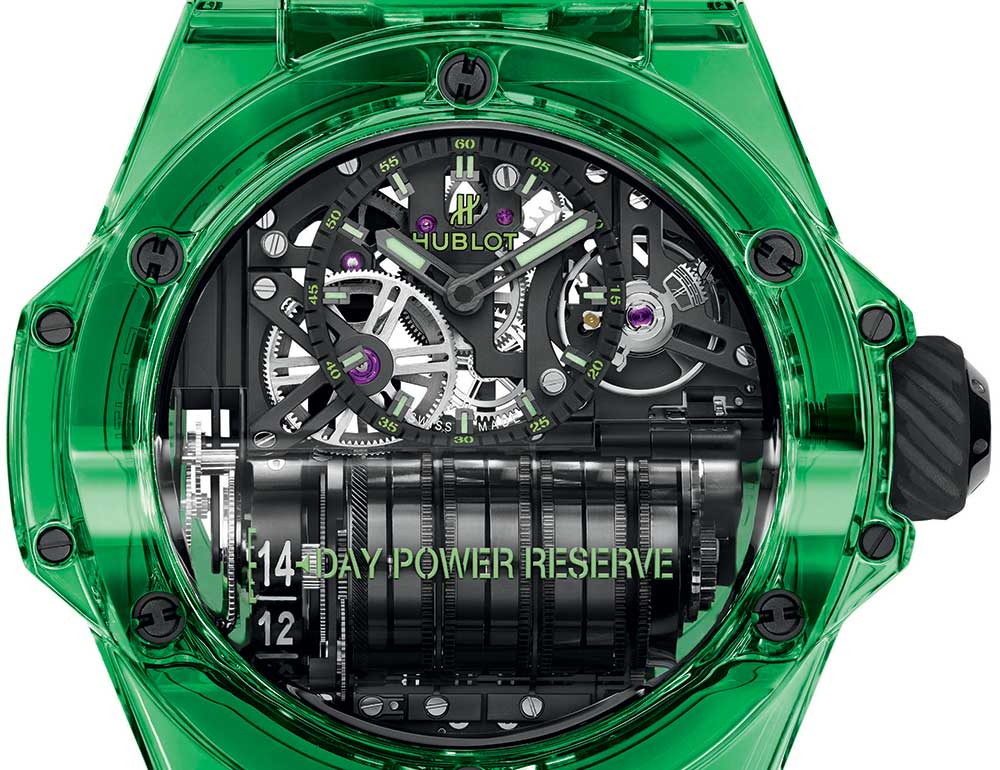 hublot big bang mp 11 saxem closeup