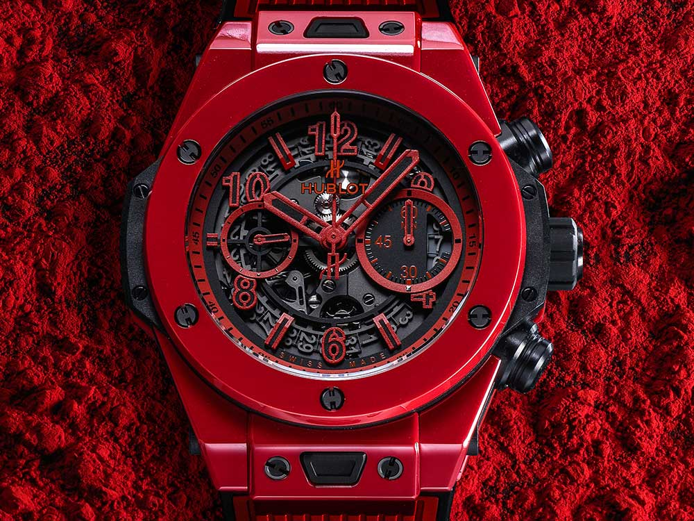 hublot big bang unico red magic lifestyle