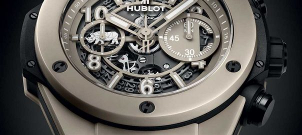 hublot big bang unico sorai closeup