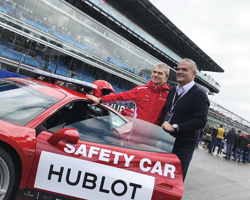 hublot ricardo guadalupe safety car