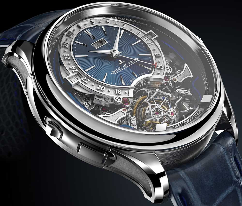 jaeger lecoultre master grande tradition gyrotourbillon westminster perpetuel side view