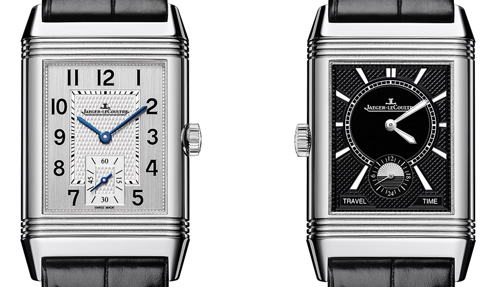 jaeger lecoultre reverso duoface small second closeup
