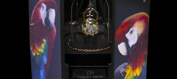 jaquet droz parrot repeater pocket watch box