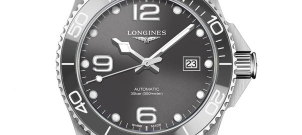 longines hydroconquest 2018 closeup