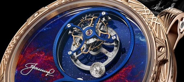 louis moinet spacewalker closeup tourbillon