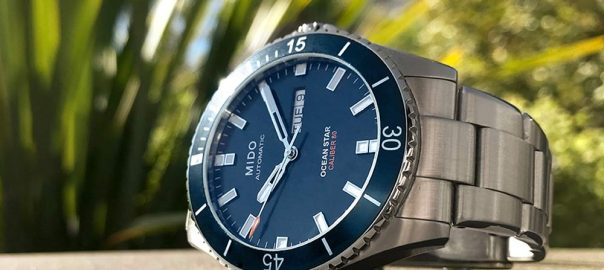 mido ocean star caliber 80 beach