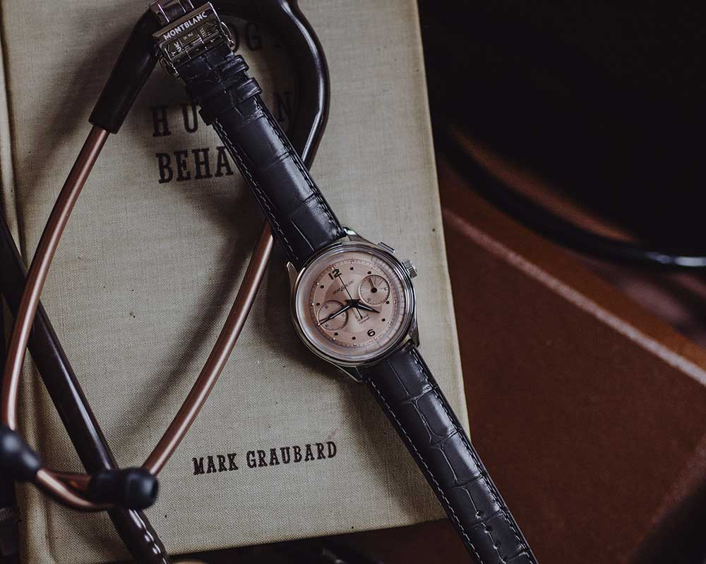 montblanc heritage manufacture pulsograph lifestyle