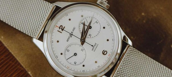 montblanc heritage monopusher chronograph lifstyle