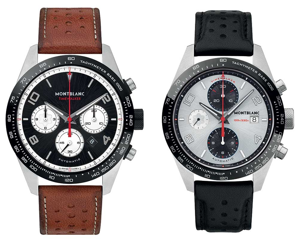montblanc timewalker automatic chronograph collection