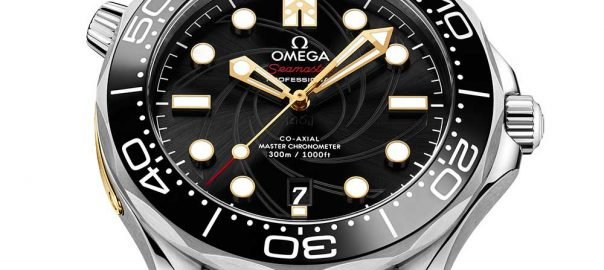 omega seamaster diver 300 james bond closeup