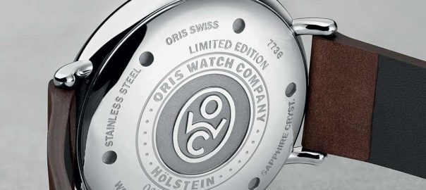 oris big crown 1917 limited edition caseback