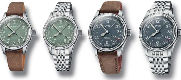oris big crown pointer date collection