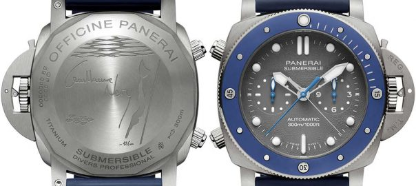 panerai chrono submersive guillaume nery both views