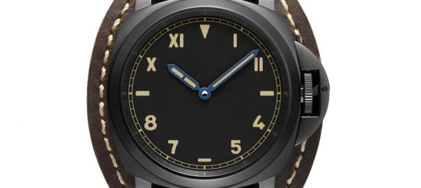panerai luminor california 8 days closeup