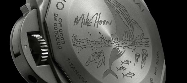 panerai submersible mike horn edition caseback