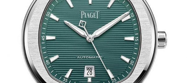 piaget polo green dial closeup