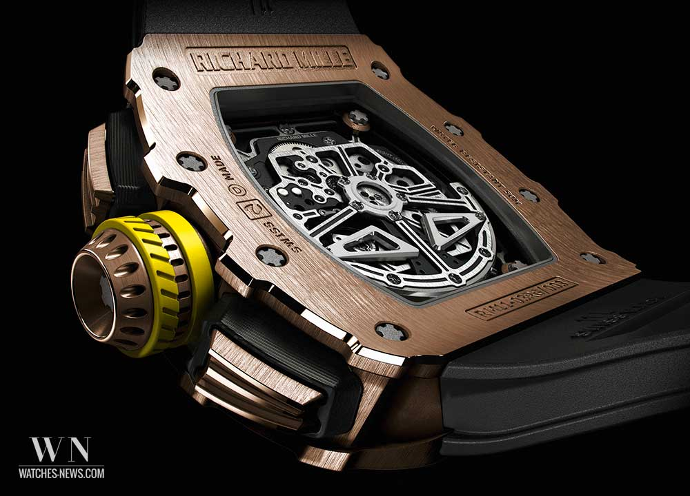 Caseback of the richard mille rm11-03