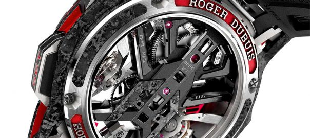 roger dubuis excalibur one-off caseback