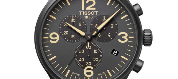 tissot chrono xl closeup