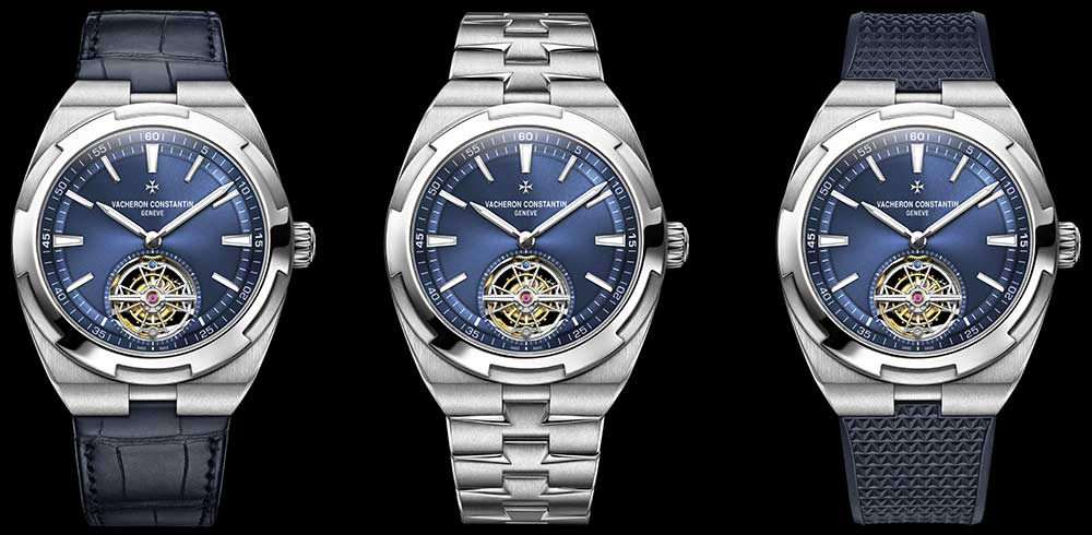 vacheron constantin overseas tourbillon different straps