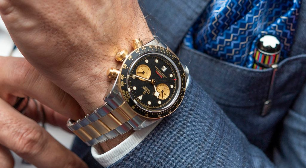 Tudor-Black-Bay-Chrono-SG-on-the-wrist